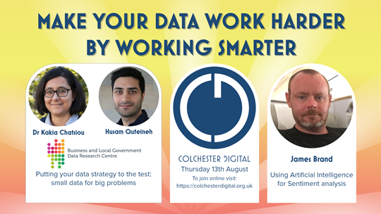 Make your data work harder by working smarter